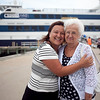 Trisha Lambert and her mother Sophia Grasso pose for a photo after their cruise on the Aquasino casino boat on Wednesday, July 10. Item Photo / Angela Owens.