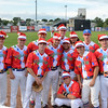 Lynn, Fraser Field. Christmas in July.  Just when you were relaxing into the warmth of summer, they throw this at you.<br /> CHRISTMAS!  The Navigators in Christmas shirts and hats.