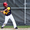 Pine Hill's Cesar Carrero (13) swings during their game against Nahant at Walter Flynn Field on Thursday, July 5. Item Photo / Angela Owens.