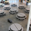 The lunchroom at the new KIPP Academy in Lynn.