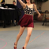 Tessa Gardy as Kathy Selden at a dress rehersal for the North Shore Music Theatre's production of Singing in the Rain.