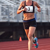 Katie Misuraca competes in the women's one hour run at Manning Field on Monday, August 11. Item Photo / Angela Owens.