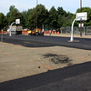 New courts being installed at Breed Middle School in Lynn today.