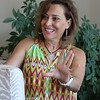 Francesca Luca at home in Nahant