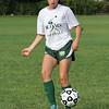 Jenn Ierardi, captain, during soccer practice at Lynn Classical High School on Saturday