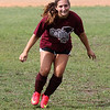 Shanna Zeramby during workouts today at Lynn English soccer practice. Photo by Owen O'Rourke