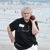 8/25/12  Revere,  Beach<br /> Bocce Tournament.  Lorraine Zolla, Revere, concentrates on her next move.
