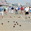 8/25/12  Revere,  Beach<br /> Bocce Tournament.  Over view of tournament.