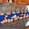 Marblehead.  Penny Bears Company/Charity.  Open house prior to moving the operation to Florida.<br /> Penny Bears lines up on the kitchen counter.