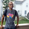 Rayquan Fregeau poses for a photo at his home in Lynn on Friday, August 23. Item Photo / Angela Owens.