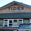 The Tides Restuarant in Nahant sufferd fire damage this morning. Photo by Owen O'Rourke