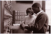 students at card catalog ca 1968