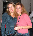 """<a href=""""http://www.newyorkplanet.net"""">Valerie Gurka</a> & friend"""