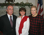 """Honorable Antonio Bandini, Consul General of Italy in New York, Mrs. Bandini & <a href=""""http://www.treesny.com/trees_board_staff.htm"""">Margaret Ternes</a>"""