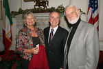 "Birgit Anneling, Honorable Antonio Bandini, Consul General of Italy in New York &<a href=""http://www.swedenabroad.com/pages/general____26236.asp""> Ambassador Kjell Anneling, Consul General of Sweden</a> at the 60th Annual Fund for Park Avenue Memorial Trees Cocktail benefit reception at the Italian Consulate, following the lighting of the Park Avenue Memorial Trees."