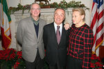 """Wiliam Castro, Manhattan Borough Commissioner, New York City Department of Parks & Recreation, Honorable Antonio Bandini, Consul General of Italy in New York & <a href=""""http://www.treesny.com/trees_board_staff.htm"""">Margaret Ternes</a>"""