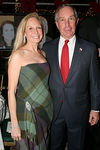 Karen Lefrak with Mayor Michael Bloomberg at the Central Park Conservancy's Silver Anniversary Gala Celebrating Twenty-Five Years of Transformation