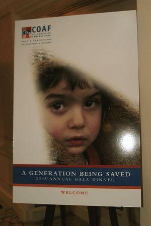 """<a href=""""http://www.coafkids.org/"""">Children of Armenia Fund (""""COAF"""")</a>"""