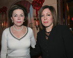 NEW YORK – DECEMBER 7: Anita Meltzer & NY Post Columnist of the Year, Andrea Peyser attend Christmas Party at Doubles Hosted by Gillian & Sylvester Miniter on Wednesday December 7, 2005 at Doubles Club in the Sherry Netherland Hotel, 783 Fifth Avenue, New York City, New York (Photos by Christopher London ©2005 ManhattanSociety.com)