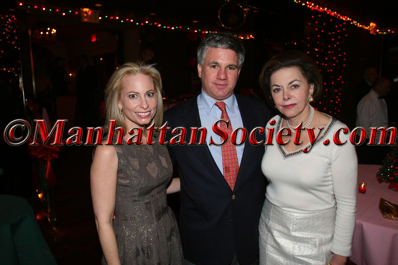 NEW YORK – DECEMBER 7:Gillian Miniter, Sylvester Miniter & Anita Meltzer attend  Christmas Party at Doubles Hosted by Gillian & Sylvester Miniter on Wednesday December 7, 2005 at Doubles Club in the Sherry Netherland Hotel, 783 Fifth Avenue, New York City, New York (Photos by Christopher London ©2005 ManhattanSociety.com)