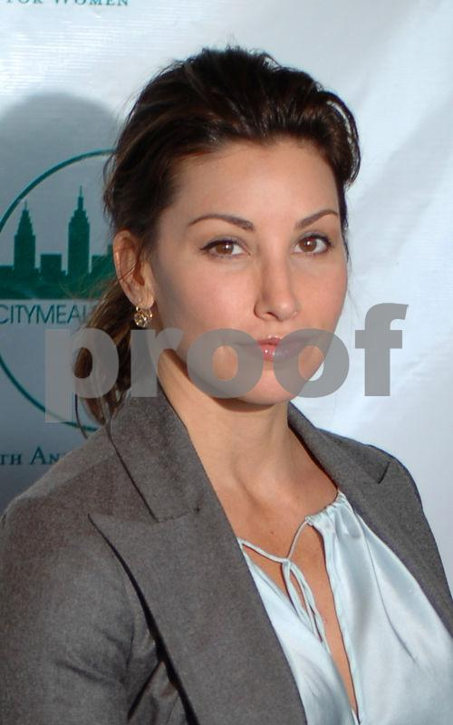 Actress Nina Gershon at the 19th Annual City Meals-on-Wheels Power Lunch for Women at the Rainbow Room in Rockefeller Center