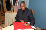 "<a href=""http://www.powerhousebooks.com/titles/alt365.html"">André Leon Talley</a> signing his critically acclaimed memoir A.L.T. 365"