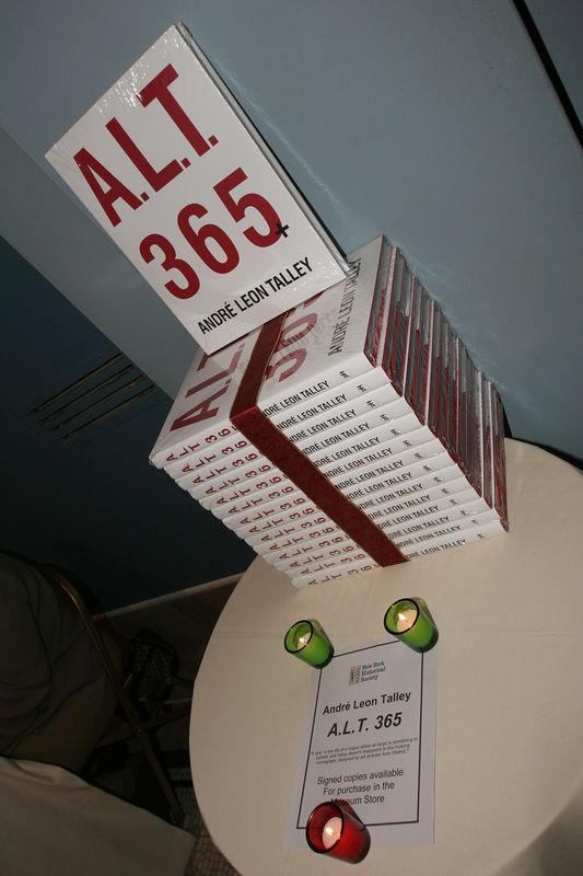 "<a href=""http://www.powerhousebooks.com/titles/alt365.html"">André Leon Talley</a> critically acclaimed memoir A.L.T. 365"