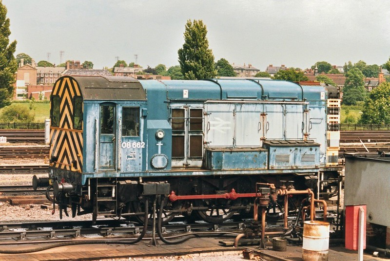 O8 Shunter At York