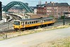DMU Passing through Gateshead