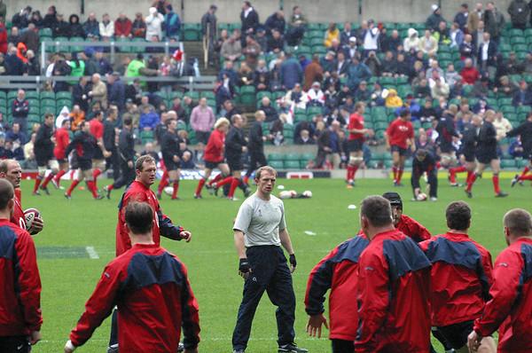 England vs Wales Six Nations Twickenham 20 March 2004