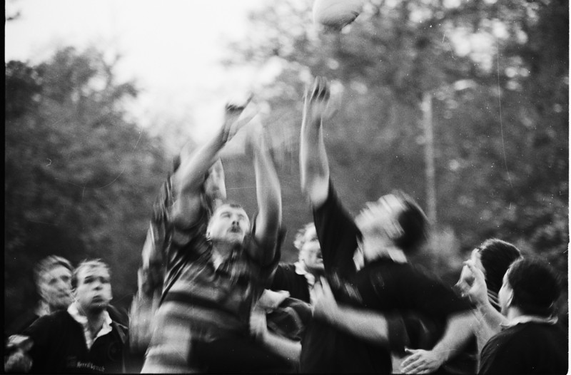 Lineout even more blurred!