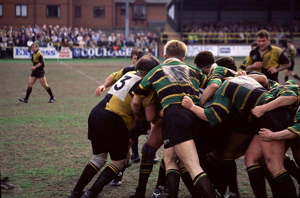 Wakefield vs Northampton, Courage League Division 2, 1995-96 Season
