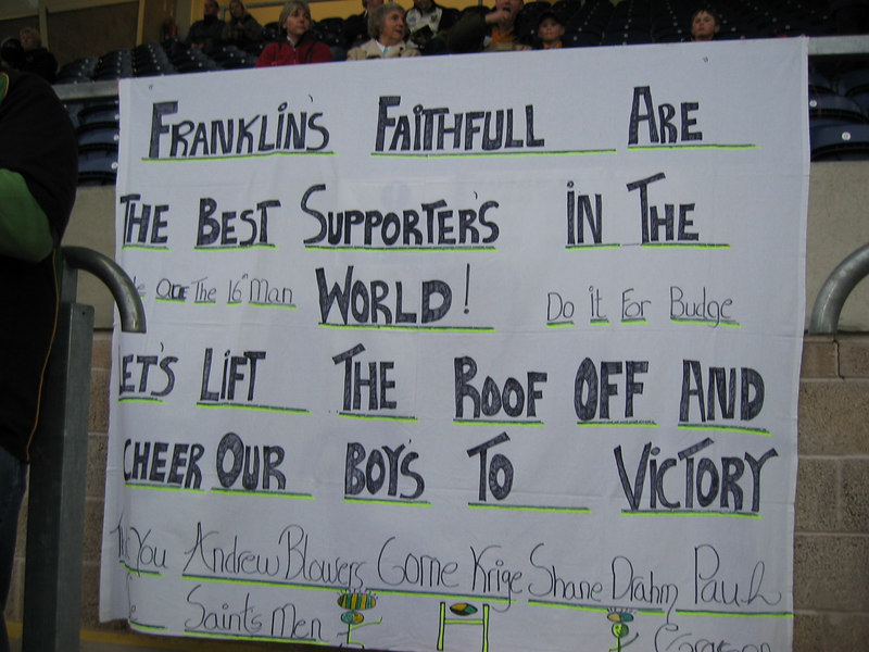 Northampton Saints vs Newcastle Falcons, Zurich Premiership, Franklin's Gardens, April 15, 2005