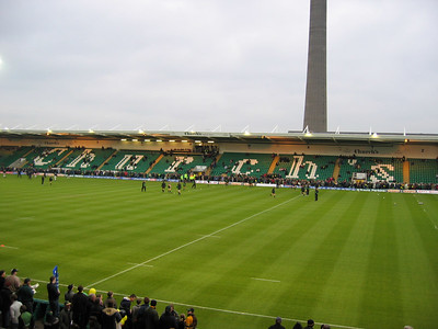 Northampton Saints vs Newcastle Falcons, Zurich Premiership, Franklin's Gardens, April 15, 2005