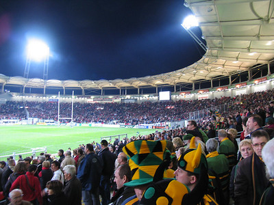 Stade Toulousain vs Northampton Saints, Heineken Cup Qtr Final, Stade Toulouse, 1 April 2005