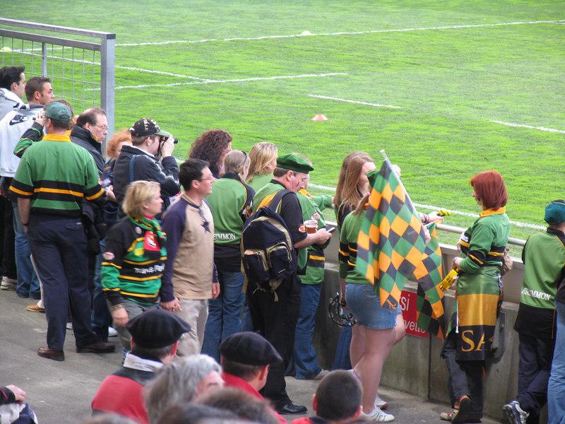 Stade Toulousain vs Northampton Saints, Heineken Cup Qtr Final, Stade Toulouse, 1 April 2005