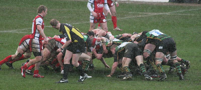 Northampton Saints vs Gloucester, Guinness Premiership, Franklin's Gardens, 3 March 2007