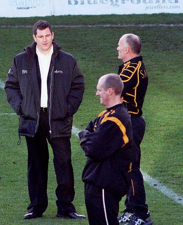 Northampton Saints vs Leicester Tigers, EDF Cup, Franklin's Gardens, 2 December 2006