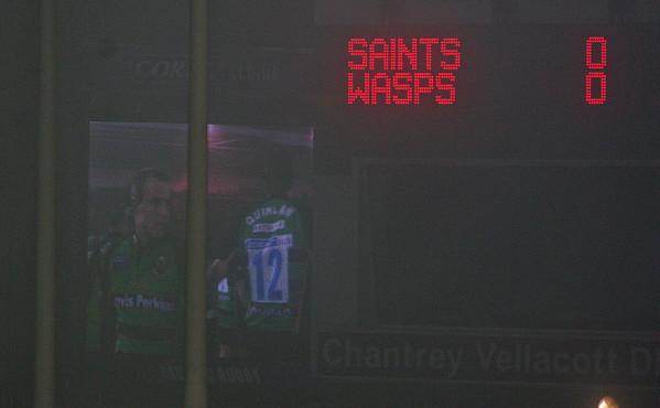 Northampton Saints vs London Wasps, Guinness Premiership, Franklin's Gardens, 22 December 2006