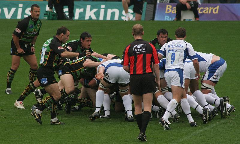 Northampton Saints vs Bath, Guinness Premiership, Franklin's Gardens, 16 September 2006