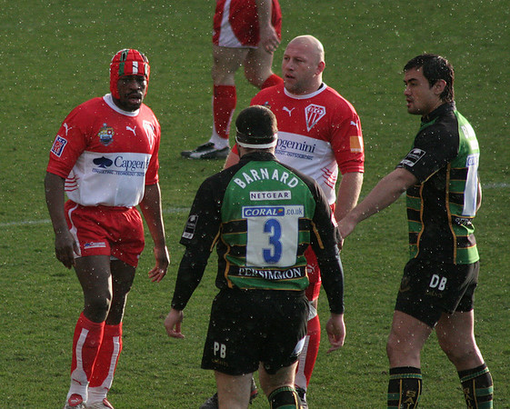 Northampton Saints vs Biarritz Olympique, Heineken Cup, Franklin's Gardens, 21 January 2007