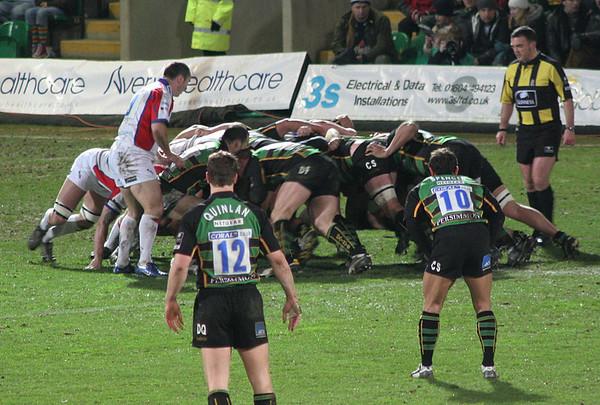 Northampton Saints vs Bristol, Guinness Premiership, Franklin's Gardens, 27 January 2007