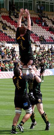 Northampton Saints vs Newcastle Falcons, Guinness Premiership, Franklin's Gardens, 3 September 2006