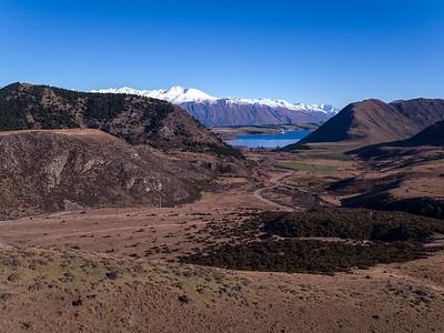 High country looking towards Lake Coleridge near Porters Pass.  South Island NZ