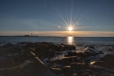 Sunrise at Bluff.