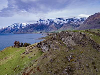 Mt Nicholas Station near Lake Wakatipu. New Zealand