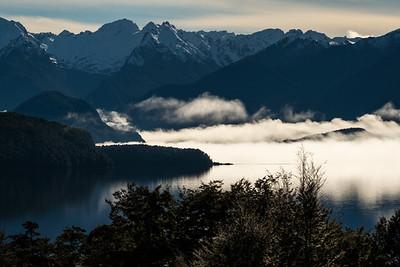 Lake Manapouri looking towards Rona Island