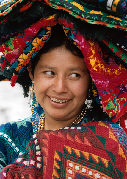 Woman at Honduras