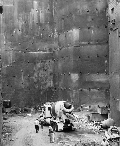 Construction Site at La Guaira, Venezuela