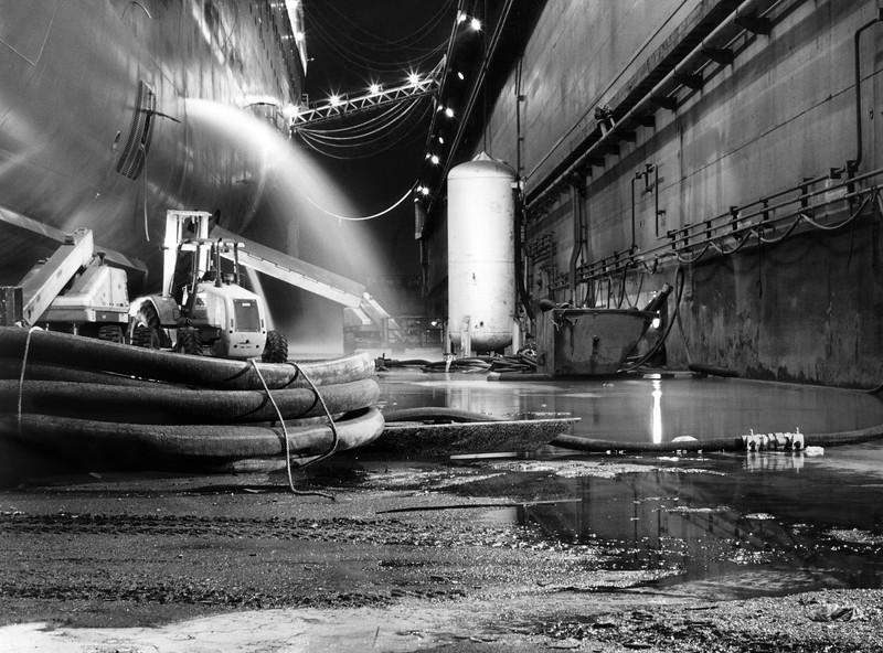 Holland America ship Zaandam at Dry Dock, Mobile Alabama